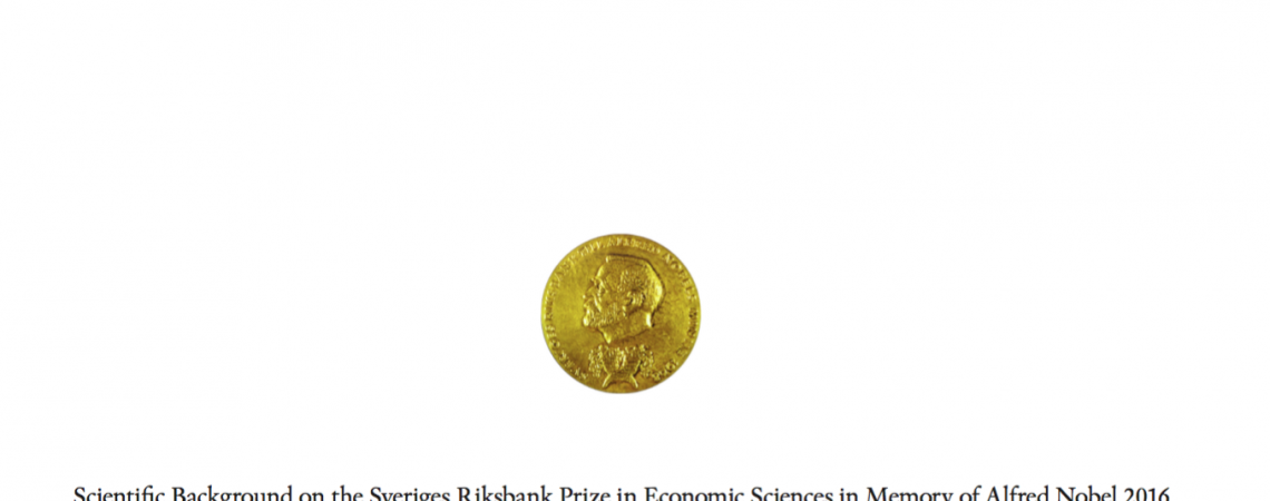 Nobel Prize in Economics for Their Work in Contract Management